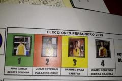 ELECCIÓN PERSONERO 2019