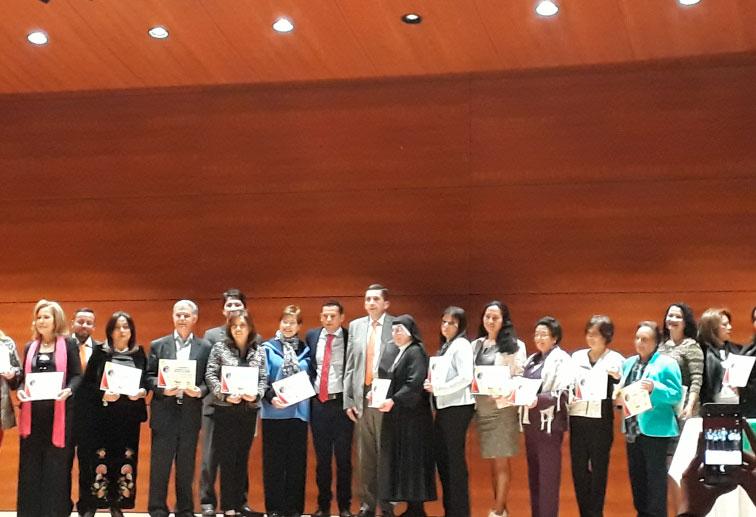 Liceo Lunita de Chía recibe Reconocimiento a la excelente calidad educativa en Chía