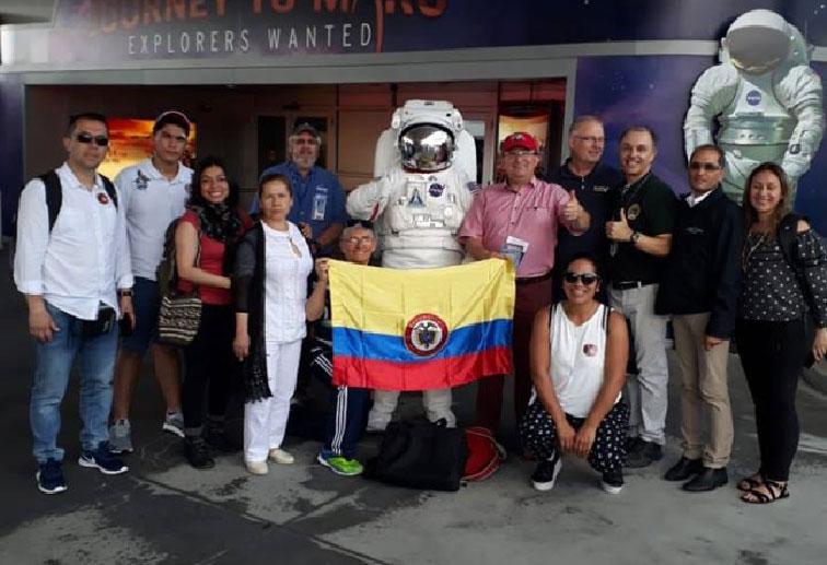 Estudiantes y docentes del Lunita de Chía asisten a capacitación en la NASA